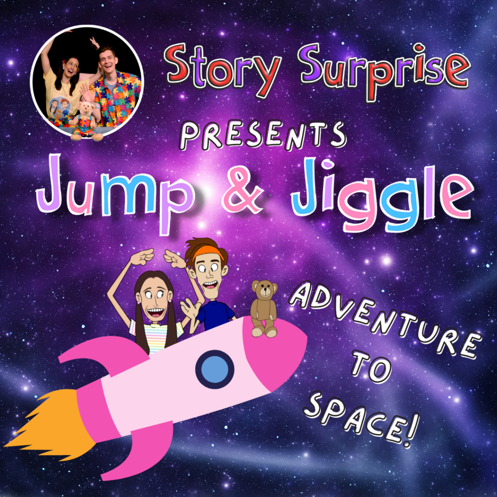 Jump Jiggle Adventure to Space Monday